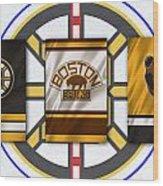 Boston Bruins Wood Print