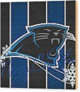 Carolina Panthers Wood Print