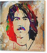 George Harrison Collection Wood Print