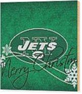 New York Jets Wood Print by Joe Hamilton