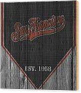 San Francisco Giants Wood Print