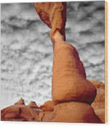 Usa, Utah, Arches National Park Wood Print