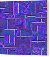1527 Abstract Thought Wood Print