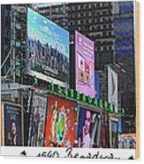 1540 Broadway Wood Print