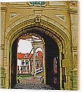 1540 Entrance To Enkhuizen-netherlands Wood Print
