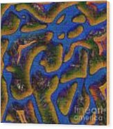 1541 Abstract Thought Wood Print