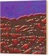 1551 Abstract Thought Wood Print