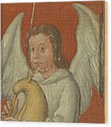 15th Century Angel Painting 6 Wood Print