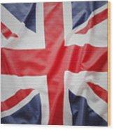 British Flag 23 Wood Print