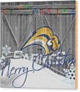 Buffalo Sabres Wood Print