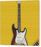 Fender Stratocaster Collection Wood Print