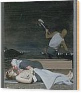 16. Jesus Is Buried / From The Passion Of Christ - A Gay Vision Wood Print