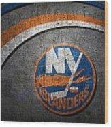 New York Islanders Wood Print