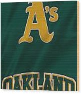 Oakland Athletics Wood Print