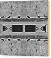 16 Pigeons On A Pharaoh's Tomb Wood Print