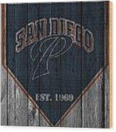 San Diego Padres Wood Print