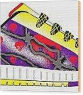 Shoe Wood Print