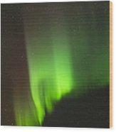 The Aurora Borealis Wood Print