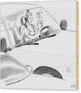 New Yorker January 8th, 2007 Wood Print
