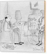 New Yorker May 18th, 2009 Wood Print