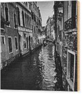Venetian Cityscape Wood Print