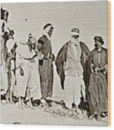 Wwi Refugees, 1919 Wood Print