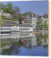 Zurich Wood Print