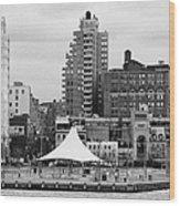 165 Charles Street Pier 45 Hudson River Park New York City  Wood Print by Joe Fox