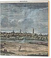 1698 De Bruijin View Of Rama Israel Palestine Holy Land Wood Print
