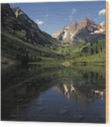 Colorado Rockies Wood Print