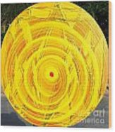 Eternal Circle Wood Print