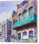 Jordan/amman/old House Wood Print by Fayez Alshrouf