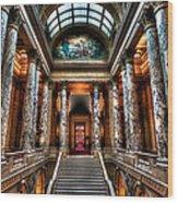 Minnesota State Capitol  Wood Print