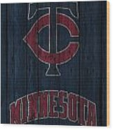 Minnesota Twins Wood Print