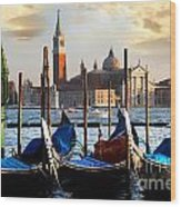 Venice In Italy Wood Print