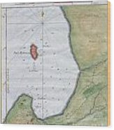 1763 Bellin Map Of Cape Town  Wood Print