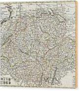 1771 Bonne Map Of Switzerland Wood Print