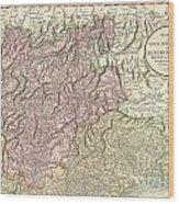 1799 Cary Map Of Tyrol Wood Print