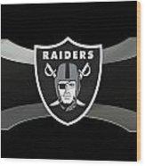 Oakland Raiders Wood Print