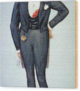 Oscar Wilde (1854-1900) Wood Print