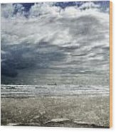 Stormy Weather Wood Print