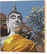 Thailand, Ayutthaya Wood Print