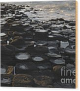 The Giants Causeway Wood Print