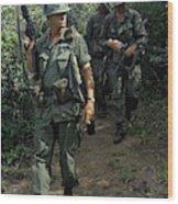 Vietnam War, 1967 Wood Print
