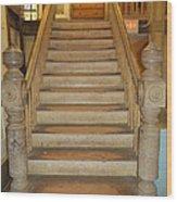 1800's Vintage Stairs Wood Print