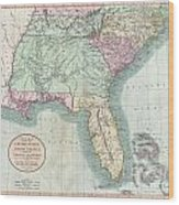 Map Of South Georgia And North Florida.1806 Cary Map Of Florida Georgia North Carolina South Carolina And