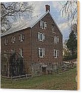 1823 North Carolina Grist Mill Wood Print
