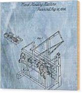 1836 Wood Molding Machine Wood Print