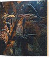 1845 Wood Print