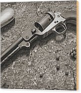1851 Navy Revolver 36 Caliber - 2 Wood Print